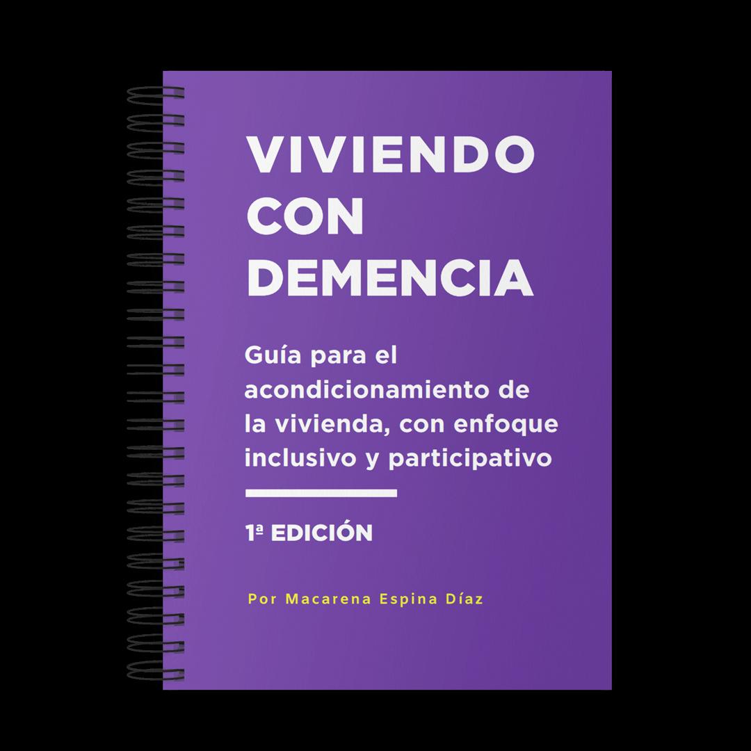Portada del libro Viviendo con demencia